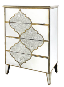 Gatsby Mirror 4 Drawer Chest