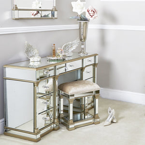 Mirrored Champagne  Stool