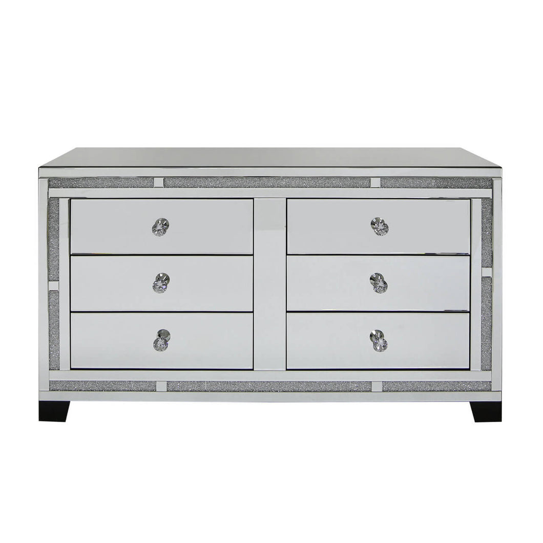 The Valentino 6 Drawer Chest