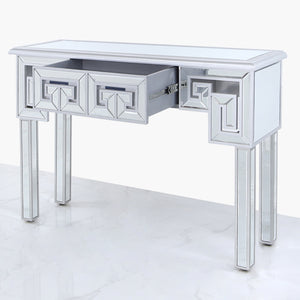 Helix Mirrored Table (Available in black&silver)