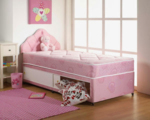 Girls Heart Bed