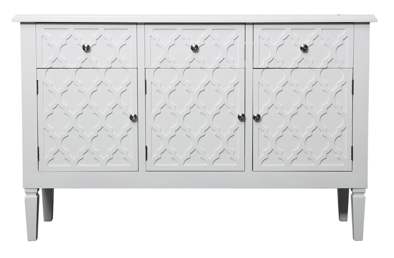 The Bondbury White Wood Sideboard