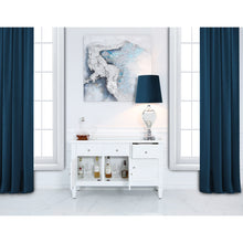 Helix White Wood Sideboard