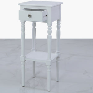 Tall Damian 1 Drawer Telephone Table