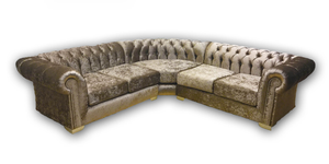 Deluxe Chesterfield Suite / Corner
