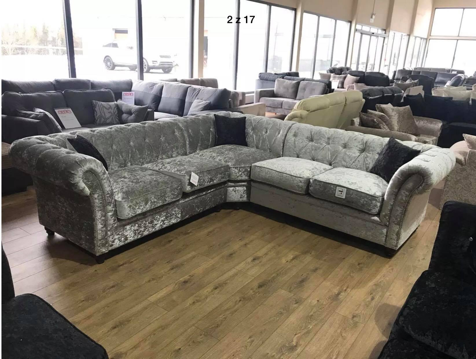 Derby Chesterfield Corner Suite Furnico Living - Derby-chesterfield-sofa