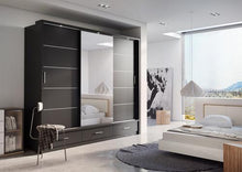 Fendi Wardrobe - 01 Sliding Door Wardrobe