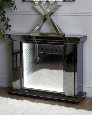 Smoked Mirror Fire Surrounds