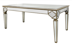 Casablanca Mirror Dining Table