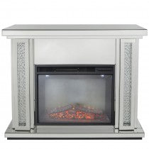 Sparkly Mirrored Fire Surrounds