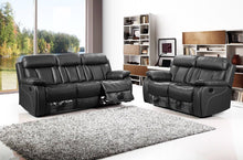 Tyler Leather Recliner Sofa