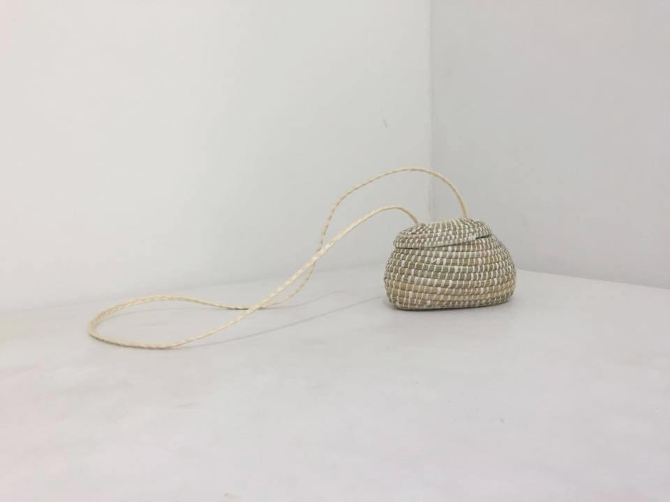 Small Betty Basket Bag
