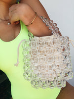 Crystal Clear Beaded Bag