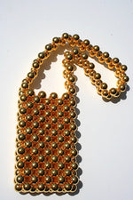Golden Girl Beaded Bag