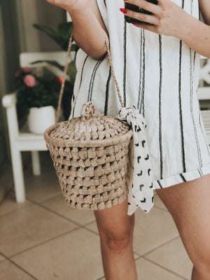 Large Amando Basket Bag