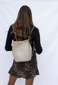 Savannah Woven Backpack