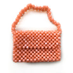 Milky Way Baguette Bag- Peach