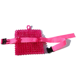 Hot Pink Beaded Helia Hip- Pack