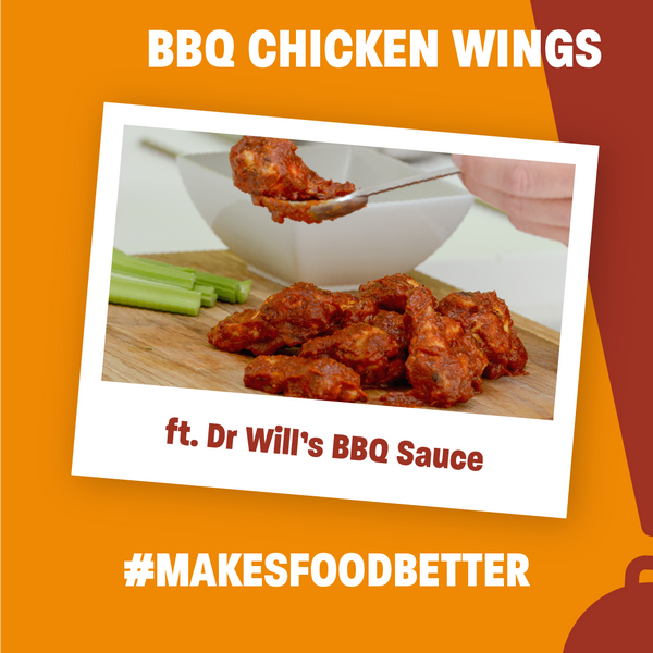 Dr. Will's Sticky BBQ Wings