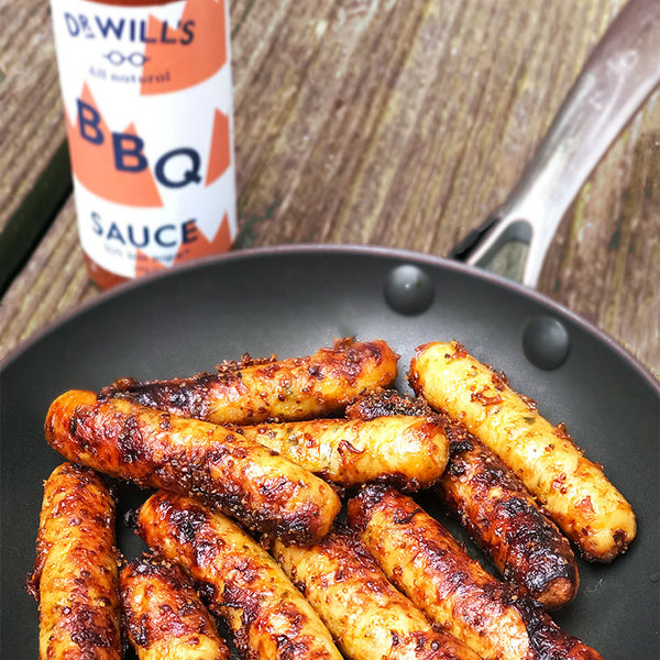 Honey Mustard Chicken Sausages