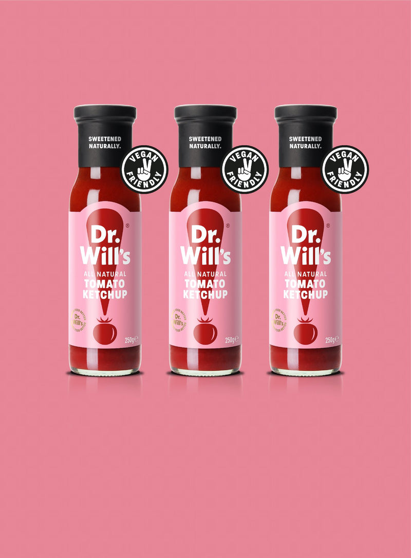 Dr. Will's Tomato Ketchup Triple Pack