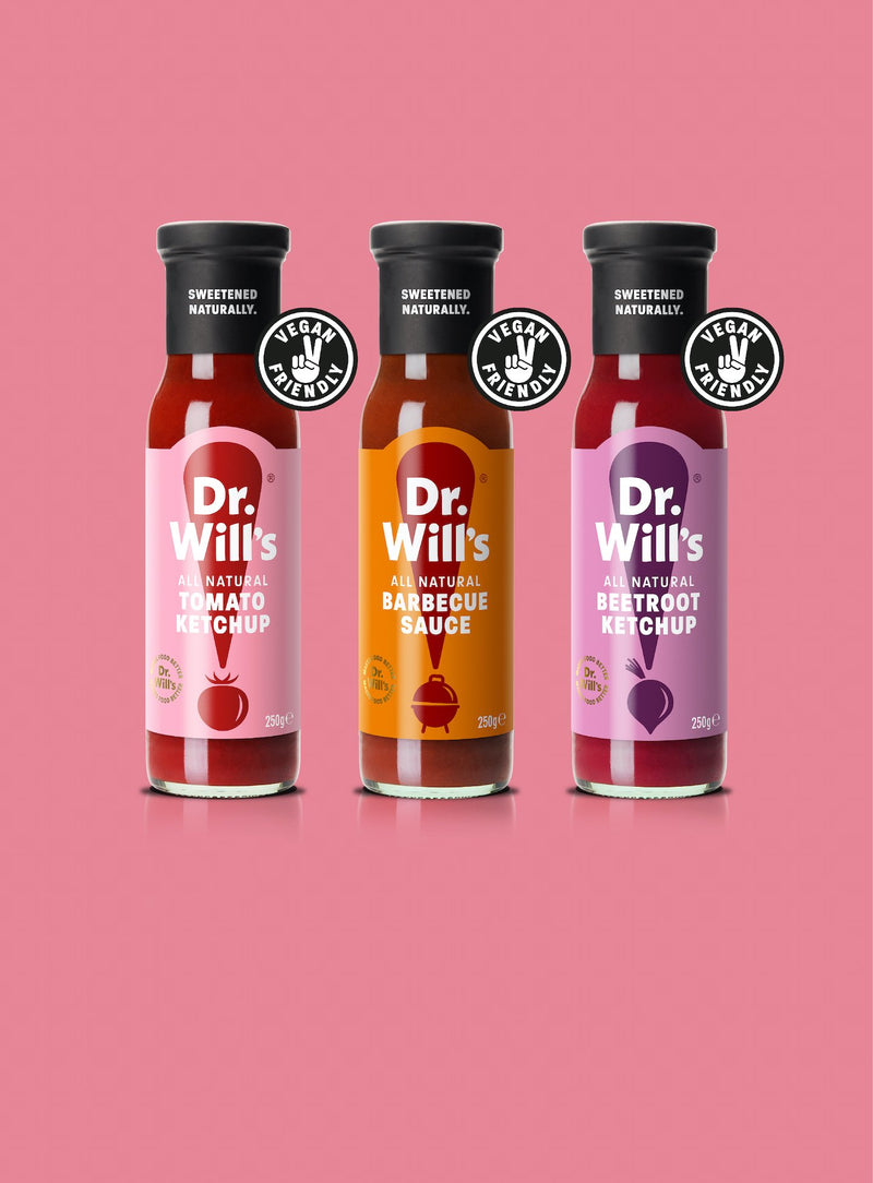 Dr. Will's Ketchup & BBQ Sauce Pack