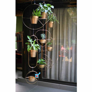 How to Use and Style our Hanging Planters