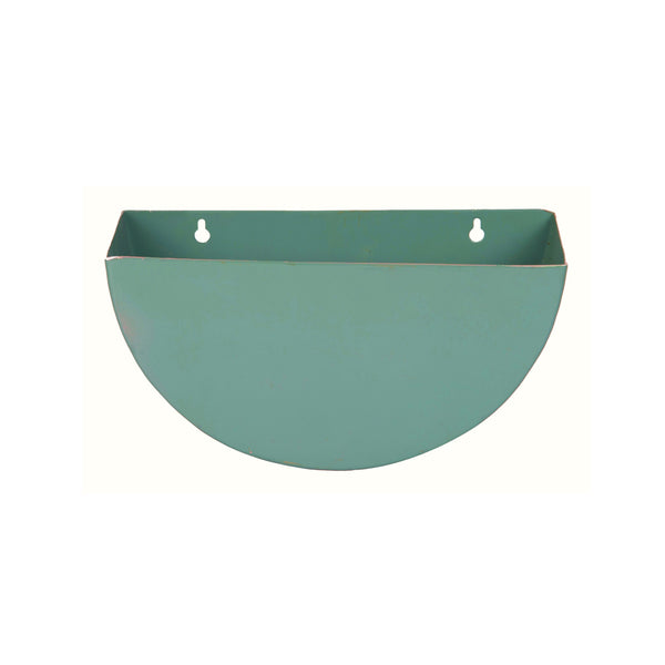 1 BHK Interiors Crescent Metal Mounted Wall Planters/Letter Box
