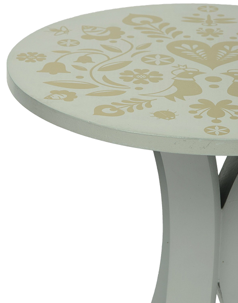 Summertime Mini Table in Grey - Summertime Mini Table in Gold