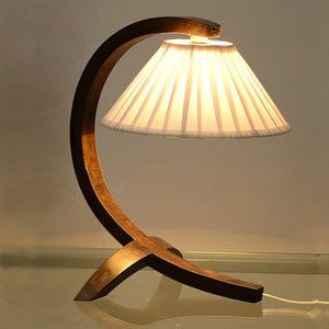 Curves Ahead Wooden Lamp - Lamp