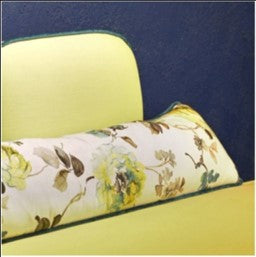 Ba-Na-Na Yellow Love Seat with Trim