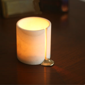 """Melting Wax"" Tealight Candle Holder 1 BHK Interiors"
