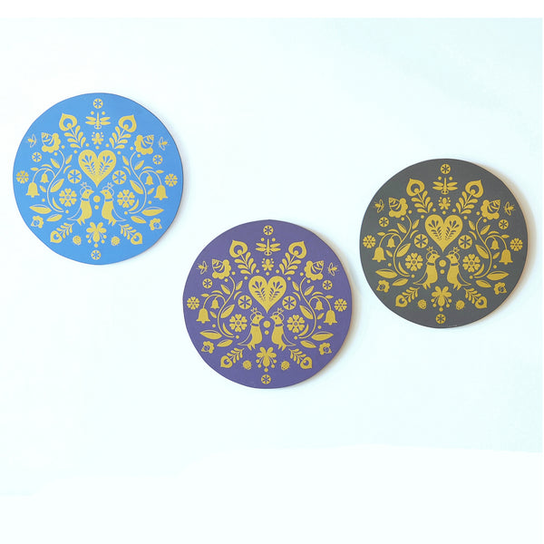 1 BHK x Studio Kohl Summertime Wall Hanging - Choose from 4 Colours
