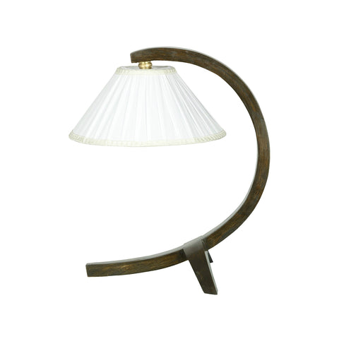 Curves Ahead Wooden Lamp