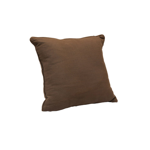Cotton Cushion Cover in Brown 1 BHK Interiors