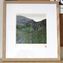 Coledale (framed) - limited edition screen print by James Bywood