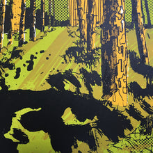 Newmillerdam Plantation - limited edition screen print by James Bywood