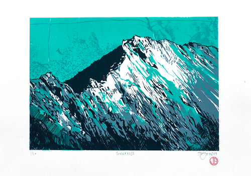 Limited edition print of Sharp Edge