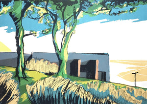 Top Withens Howarth - limited edition screen print by James Bywood