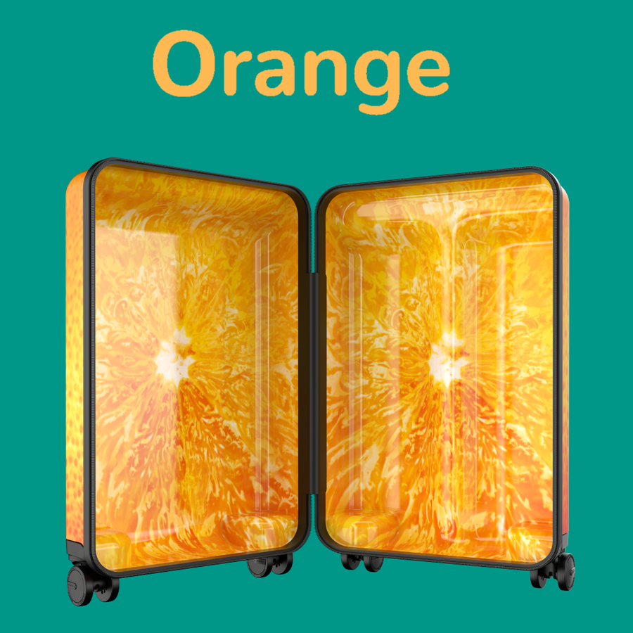 Orange Fruitcase