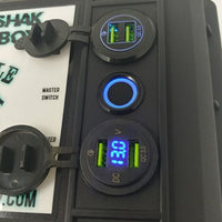 """Yak N Shak"" Powerbox with a 12ah LiFeP04 battery"