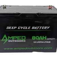 80Ah Lithium Battery (LiFePO4)