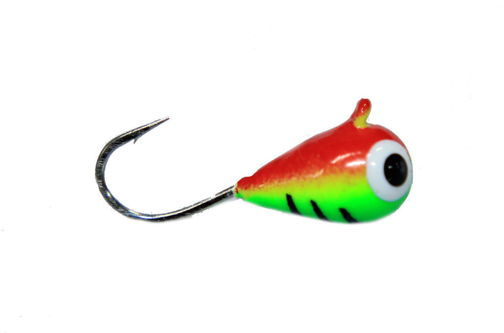 Perch Eye Glow Tungsten Jig