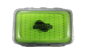 Waterproof Silicon Jig Box (Amped Outdoors Branded)
