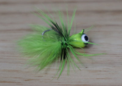 Sour Apple Fly Tungsten Jig