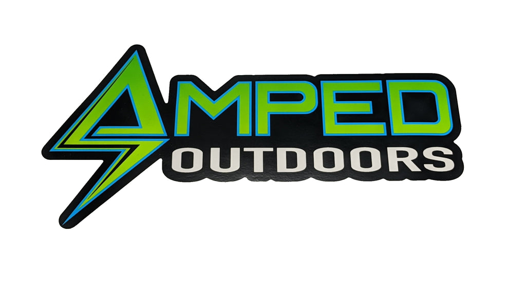 "Amped Outdoors 6"" UV Sticker"