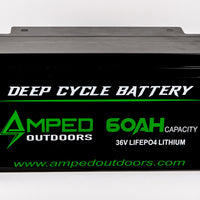 60Ah 36v Trolling Motor Lithium Battery (LiFePO4) - Available Early February!
