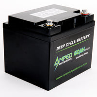 60Ah Lithium Battery (LiFePO4) - Available Now!