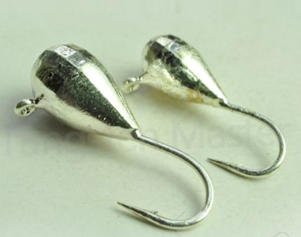 Unpainted Tungsten Tear Drop Jig