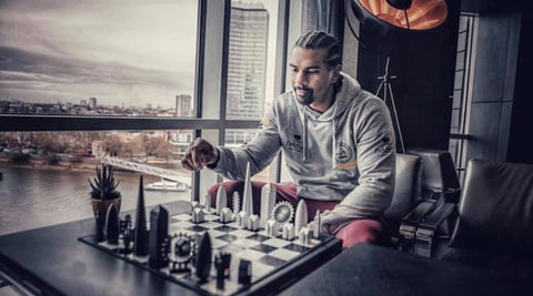 David Haye plays Skyline Chess London Edition